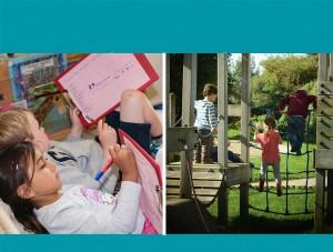 chichester nursery sharing writing climbing